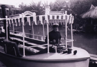 John Waite once worked as a Jungle Cruise skipper at Disneyland. This photo was taken in 1958.
