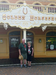 Carl and Sue Casebeer met at Disneyland while both were working in Frontierland. Him on the Mark Twain, her at the Golden Horseshoe.