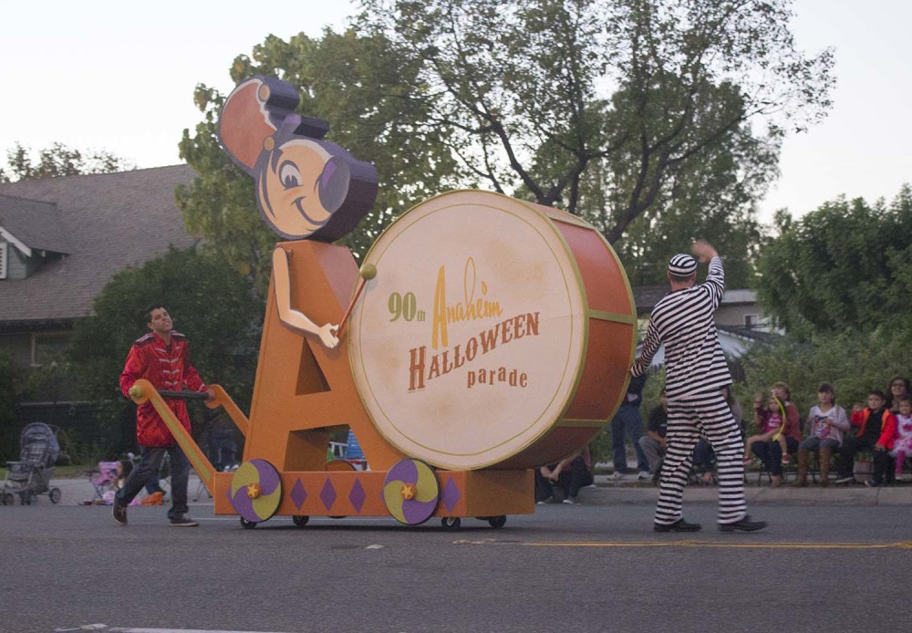 In case you couldn't figure it out, 2014 was the 90th edition of the Anaheim Halloween Parade.