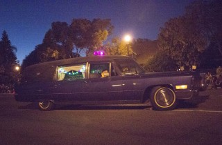 No Halloween would be complete without a hearse, neither is the 90th edition of Anaheim's.